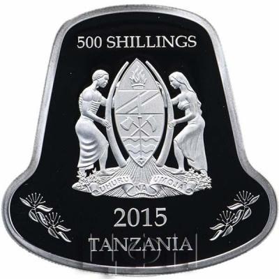 Танзания 500 шиллингов 2015 «год Козы» в буклете (1).jpg