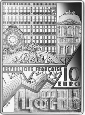 2020, 10 евро Франция - «Музейные шедевры».jpg