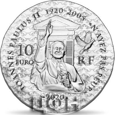2020, 10 евро Франция - «SISTER EMMANUELLE 10€ SILVER COIN» (2).jpg