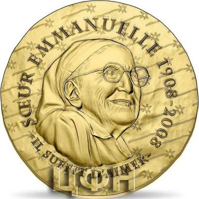 2020, 50 евро Франция - «SISTER EMMANUELLE 50€  GOLD COIN» (1).jpg