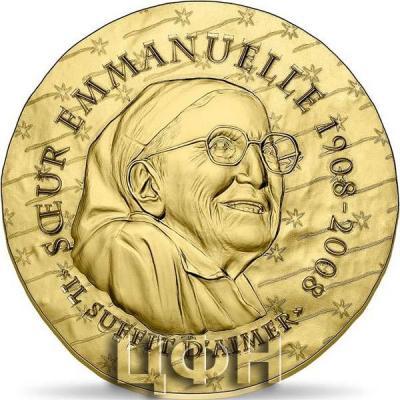 2020, 200 евро Франция - «SISTER EMMANUELLE 200€ GOLD COIN» (1).jpg