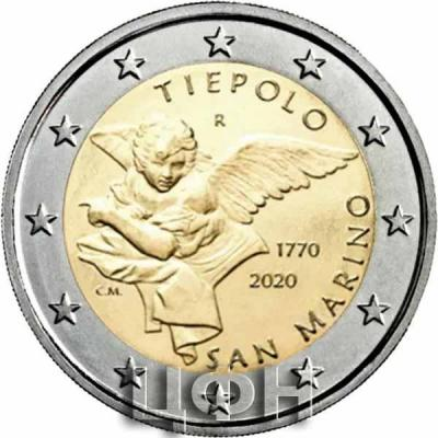«2020, 2 евро Сан-Марино, памятная монета - 250 лет со дня смерти Джамбаттиста Тьеполо» (1).jpg