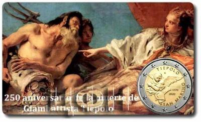 «2020, 2 евро Сан-Марино, памятная монета - 250 лет со дня смерти Джамбаттиста Тьеполо» (2).jpg