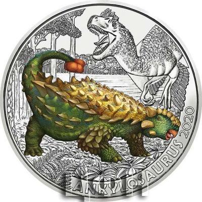 ANKYLOSAURUS Supersaurus Glow In The Dark Coin 3€ Euro Austria 2020 (1).jpg