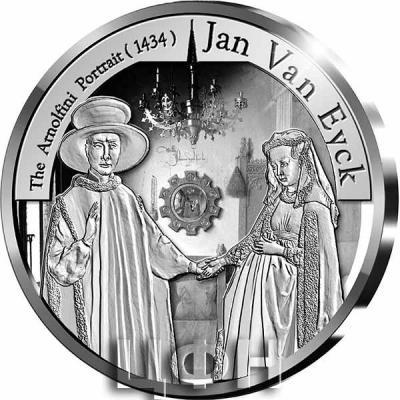 «Pièce de 10 euros Belgique 2020 « Gothique – Jan van Eyck » Belle-épreuve en Argent».jpg