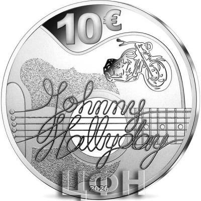 «10 euro - Johnny Hallyday 60 years of memories.».jpg