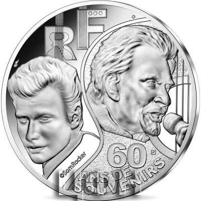«10 euro - Johnny Hallyday 60 years of memories».jpg