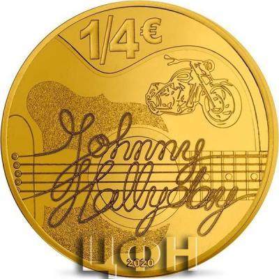 «JOHNNY HALLYDAY 60 ANS DE SOUVENIRS - MONNAIE DE 25С».jpg