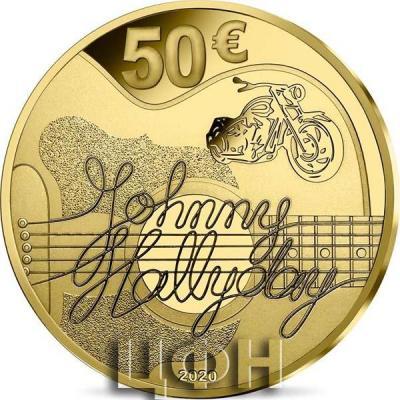 «JOHNNY HALLYDAY 60 ANS DE SOUVENIRS - MONNAIE DE 50€ OR».jpg