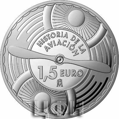 1.5 euro «История авиации».jpg