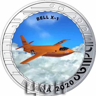 1.5 euro «История авиации» BELL X-1.jpg