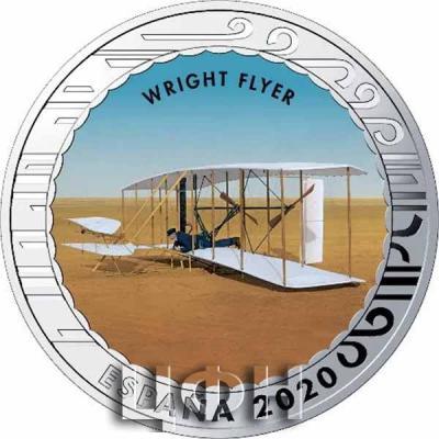 1.5 euro «История авиации» WRIGHT FLYER.jpg