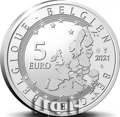 «5 euromunt België 2021 Zilver Proof».jpg
