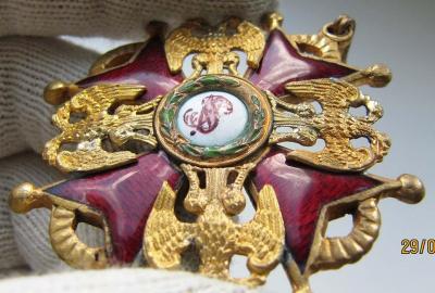 Орден Святого Станислава. 3 степени. Временное правительство (аверс 5).jpg