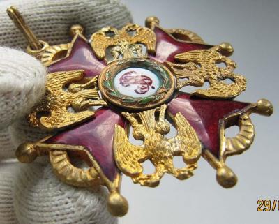 Орден Святого Станислава. 3 степени. Временное правительство (аверс 6).jpg