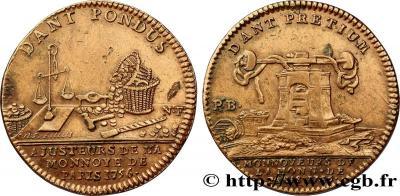 CORPORATIONS Monnayeurs et ajusteurs de la Monnaie de Paris 1756.jpg